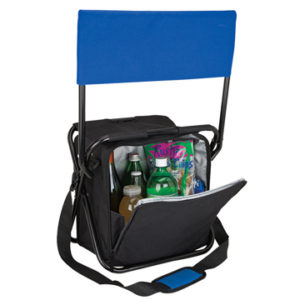promotional folding chair with cooler